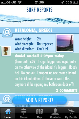 Greece Surf Report