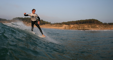 Chris Thompson FataFace Team Rider, Errant Surf Holidays