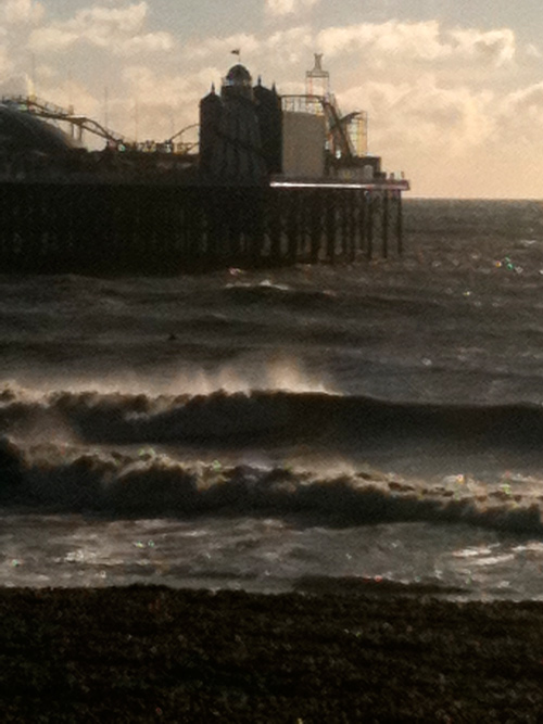 Surfing in Brighton