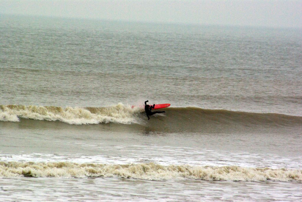Surfing in Shoreham