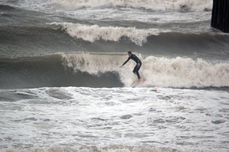 Surfing Shoreham