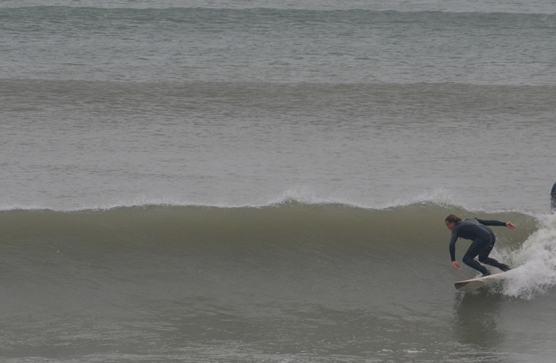 Surfing in Wittering