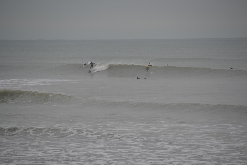 surfing at Bracklesham