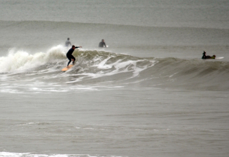 Surfing south coast